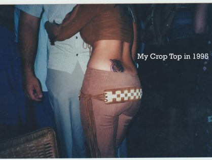 Crop Tops: I Loved You Then, Not So Much Now.