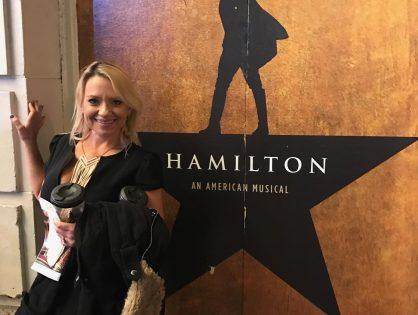 Hamilton on Broadway!