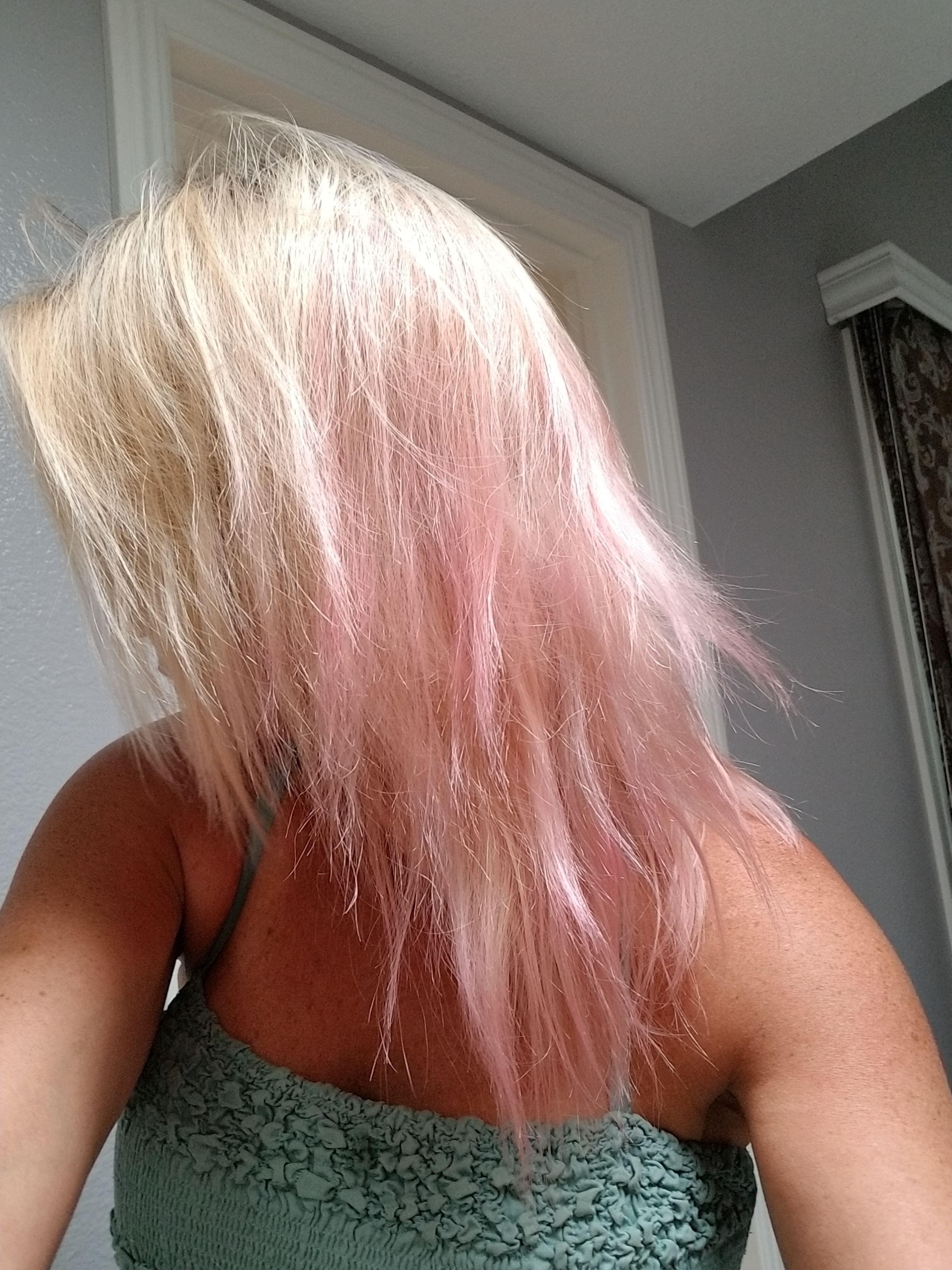 Overtone Pink Hair