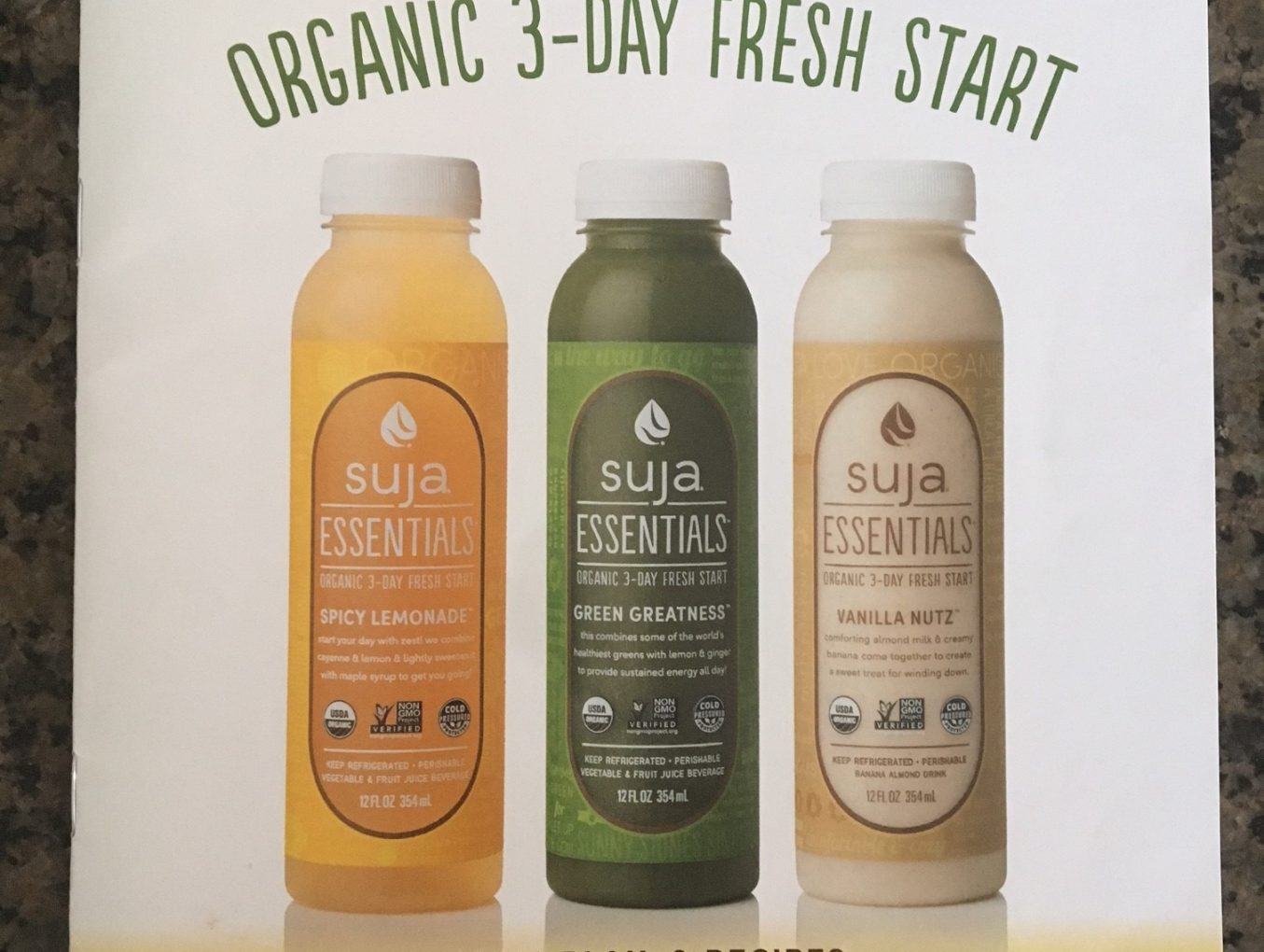 Suja juice 3 day cleanse innerbombshell suja juice 3 day cleanse malvernweather Gallery