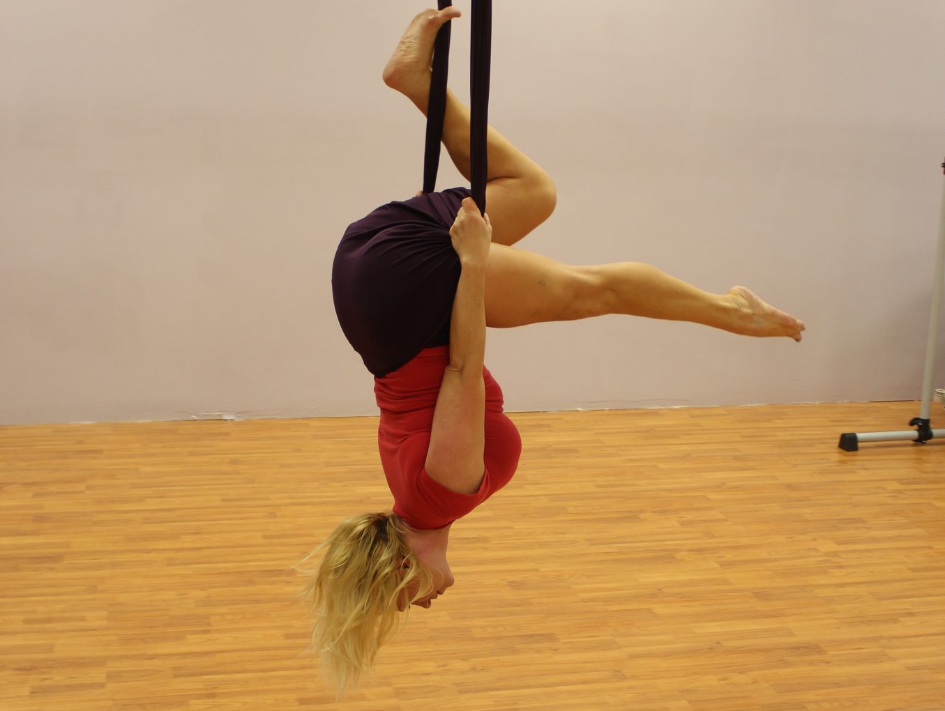 Flying High On Silks