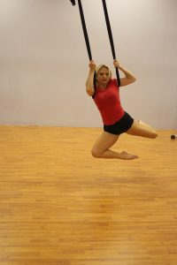 Aerial Yoga, fitness and exercise