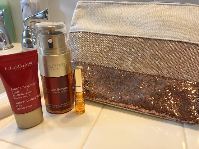 holiday gift sets, reviews, clarins products, face