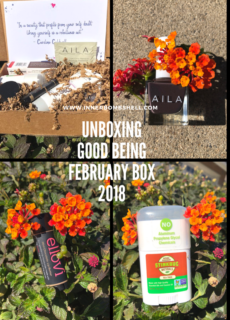 Unboxing The Good Being February 2018 Box