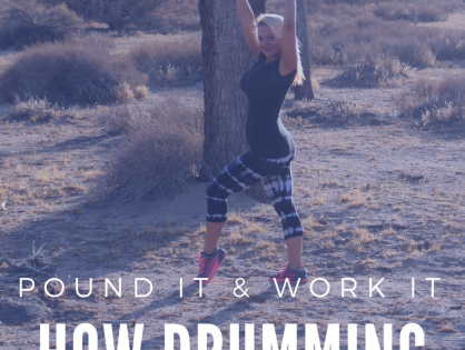 Pound It and Work It. How Drumming Can Get You Fit.