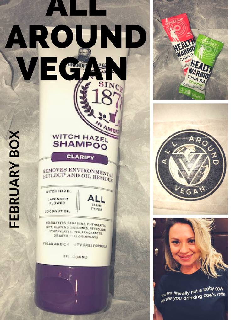 All Around Vegan? Why, Yes! I am.