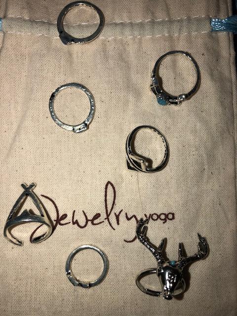 Tribal rings, tribal triangles, deer head, arrows