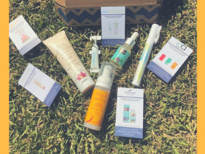 Unboxing The Good Being April Subscription Box