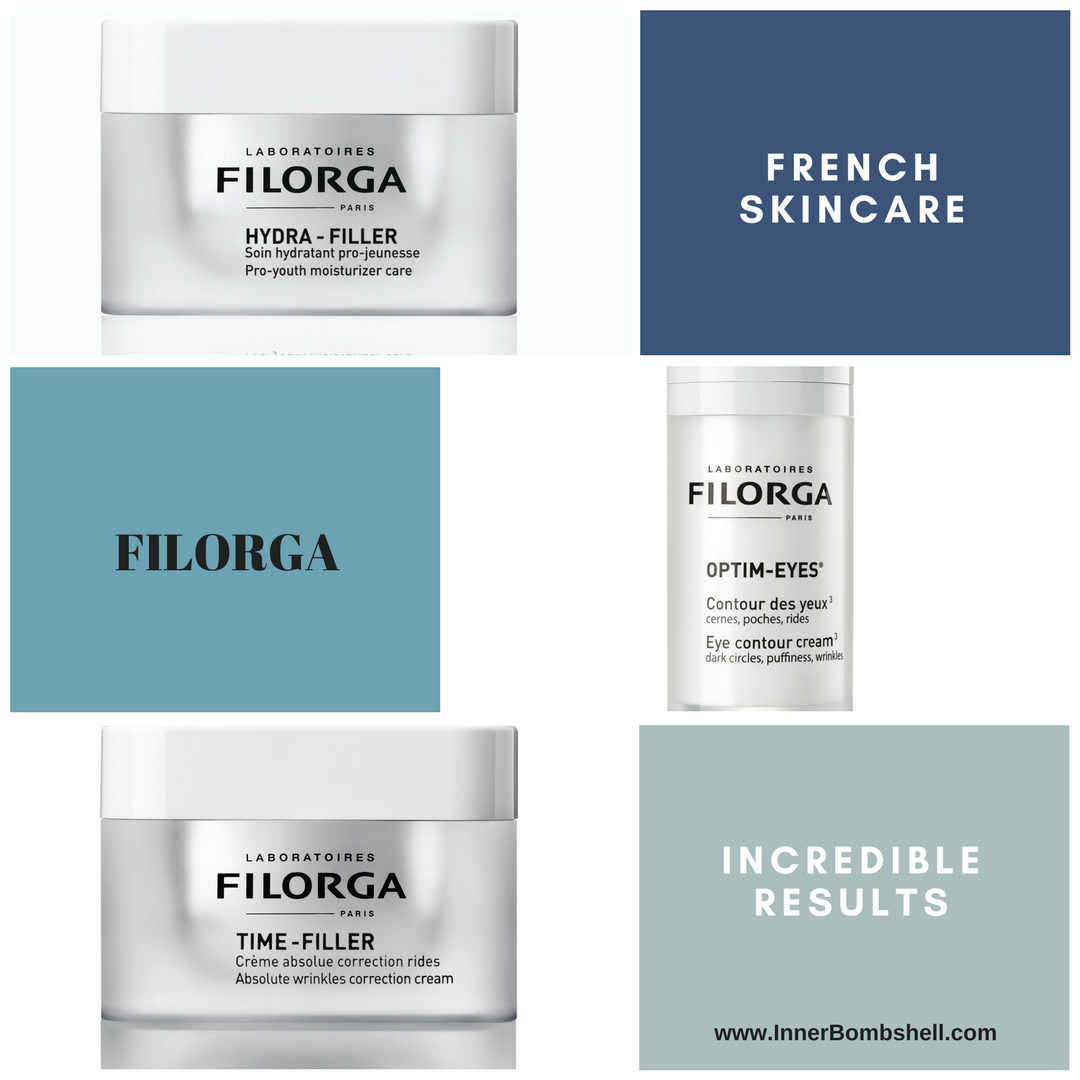 Filorga skincare, french skincare, wrinkle reduction, pore reduction, clear skin, youthful