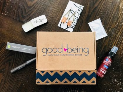 A Monthly Beauty Subscription Box Brought to you by Good Being