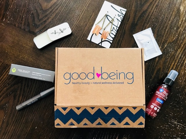 beauty subscription box, good being box, juice beauty review, lips