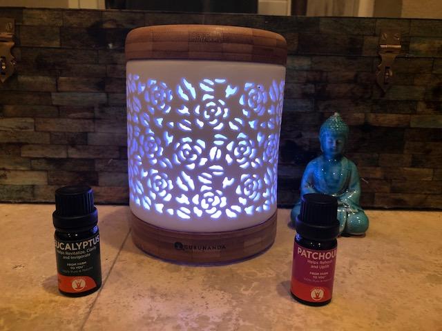 essential oils, diffuser, gurunanda, guru, wellness, health,