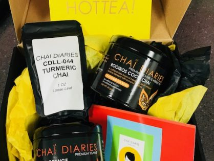 Cheers to Tea Time…with Chai Diaries