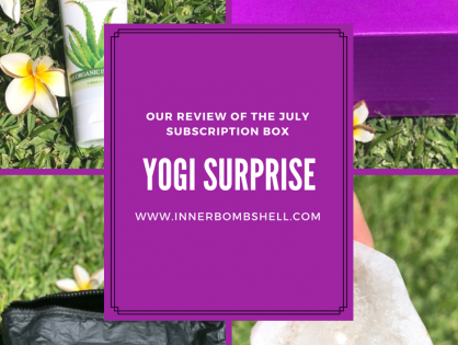 Yogi Surprise July's Subscription Box Review