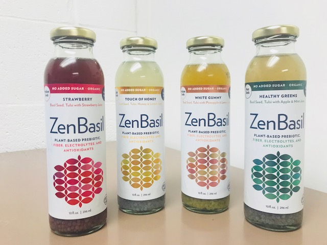 zenbasil drinks, healthy, basil seeds, wellness drinks, touch of honey, healthy greens, strawberry, white gummy