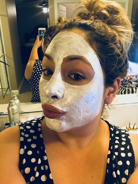 purifying mask, glam glow, beauty treatment, skincare, anti-aging, natural glow