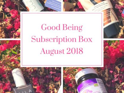It's Time To Unveil Good Being August Box