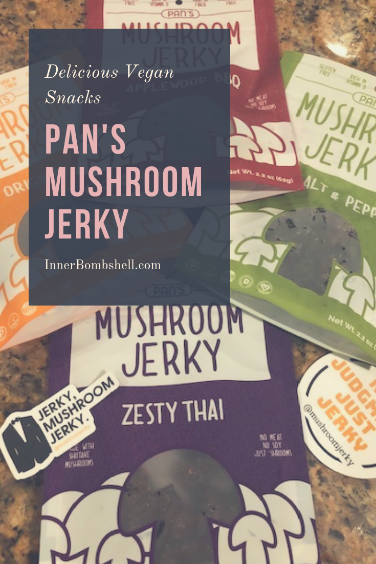 vegan, gluten free, paleo friendly, mushrooms, jerky, organic, snacks, healthy