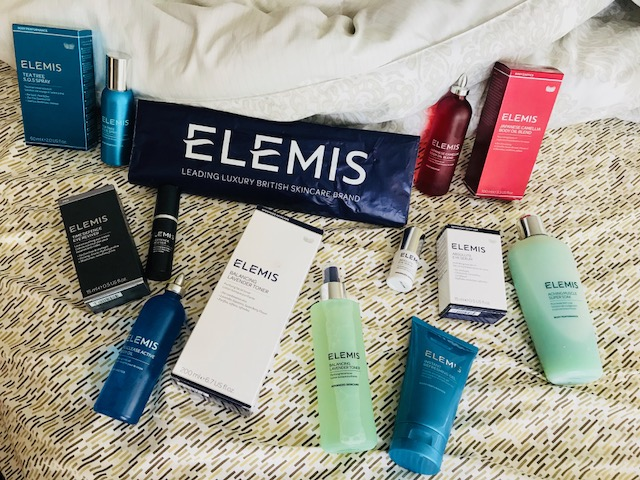 Elemis Skincare, UK beauty, spa skincare, luxury spa products, facial toner, the best massage oil