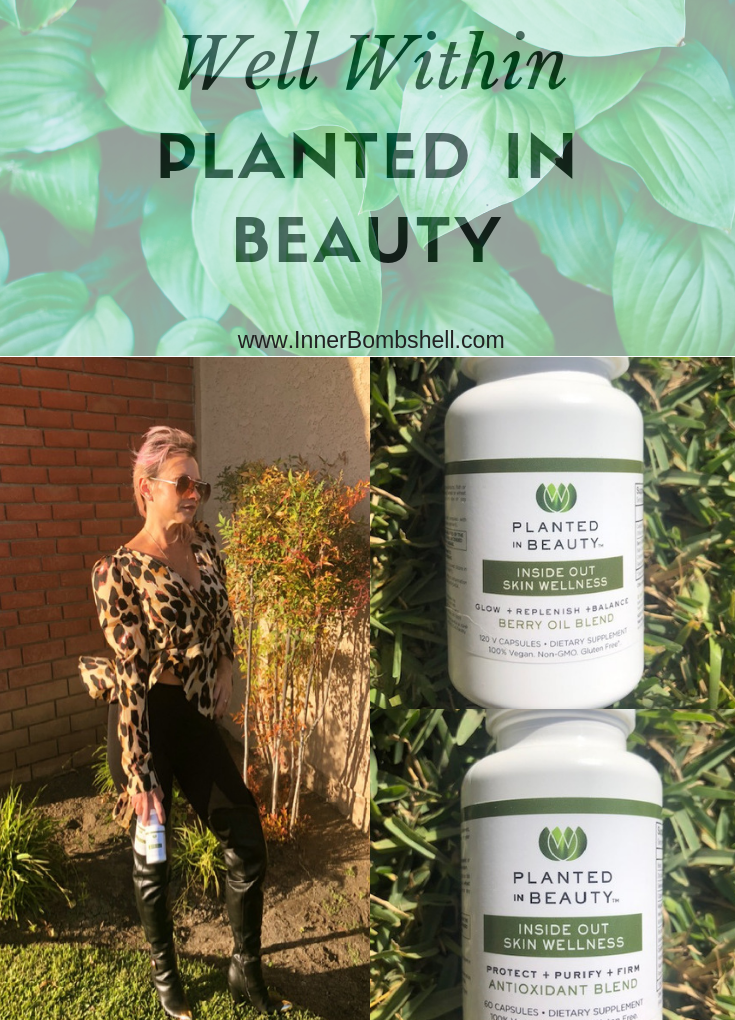 Well Within Planted In Beauty: A Vegan Supplement For Your Skin