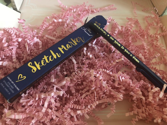 Too Faced Eyeliner Sketch Marker - Navy Blue