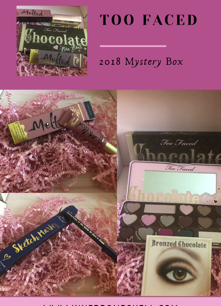 Too Faced Amazing 2018 Mystery Box