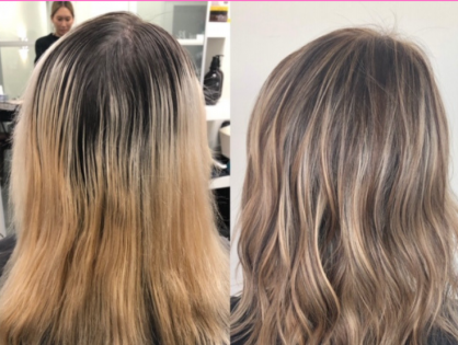 Hair Transformation From Brassy To Beautiful