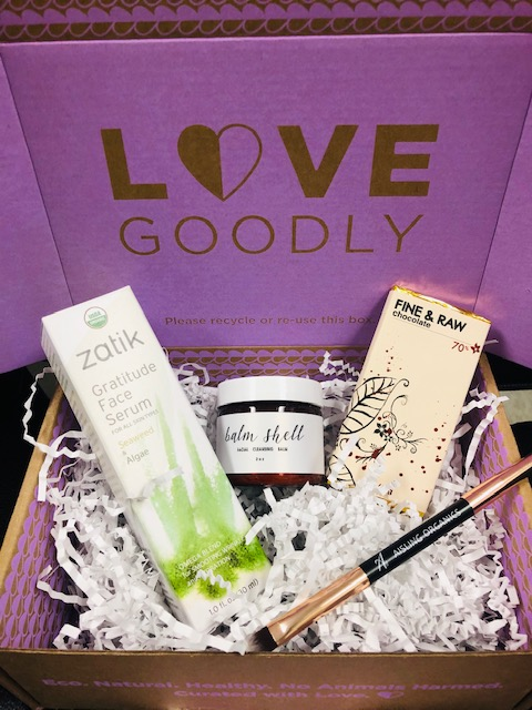 Love Goodly Box, Unicorn, Organic, Cruelty-free, beauty, wellness, skincare