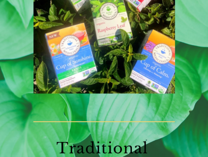 Pure Goodness, Traditional Medicinals Teas.