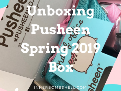 Pusheen Subscription Box Spring 2019 Unboxing