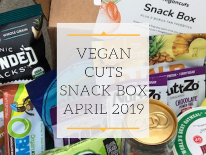 Unboxing Vegan Cuts Snack Box April 2019