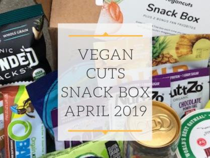 Unboxing Vegan Cuts Snack Box April 2019