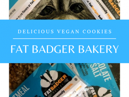 Fat Badger Delicious Vegan Cookies