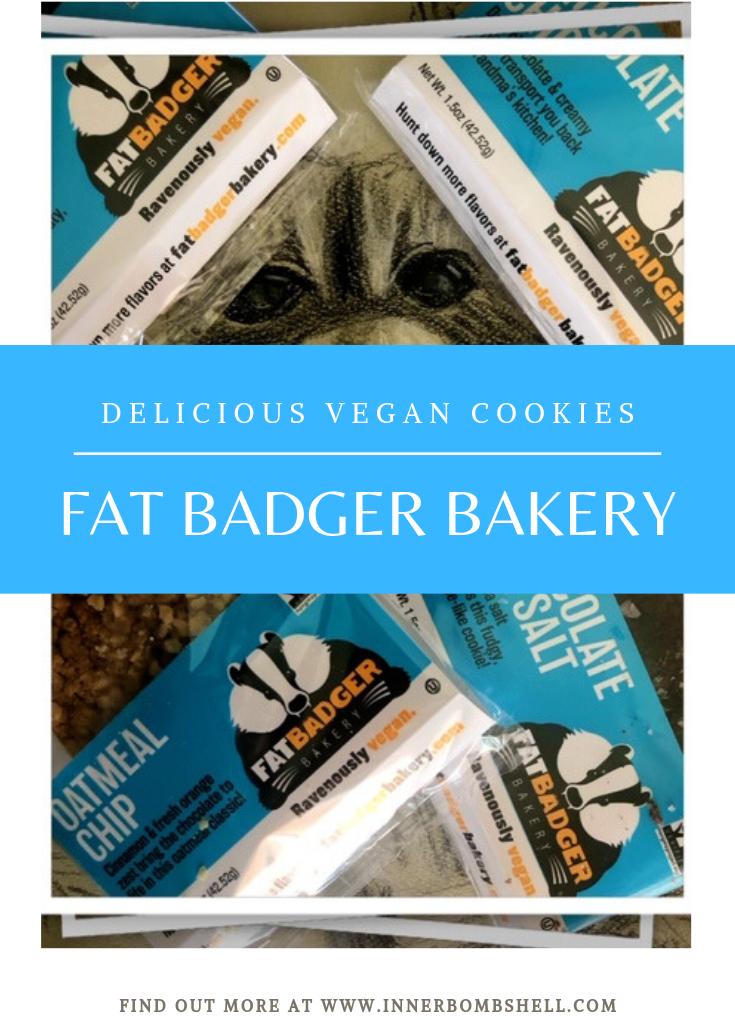 Fat Badger Delicious Vegan Cookies