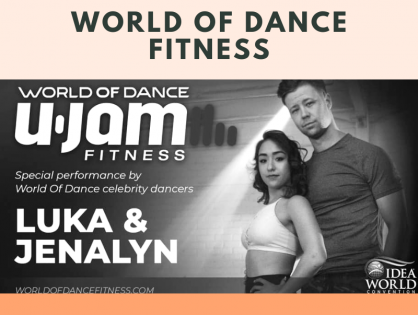 World of Dance U-Jam Fitness is Here!